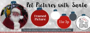 Pet Pictures with Santa Session 3 @ Decadent Dogs | South Haven | Michigan | United States